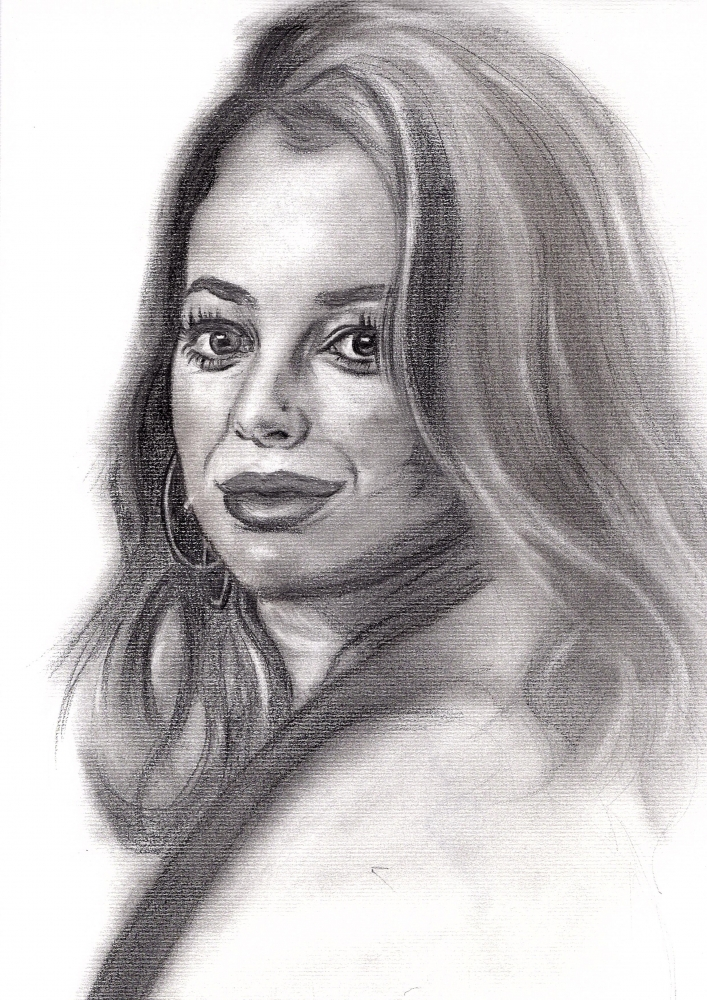 Blanca Suárez by RaffoArt